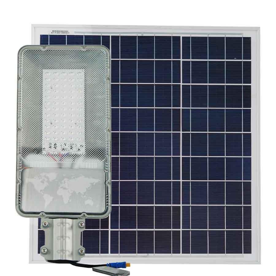 Đèn đường năng lượng mặt trời 200W cao cấp Roiled RL-D200 siêu sáng dành cho công trình