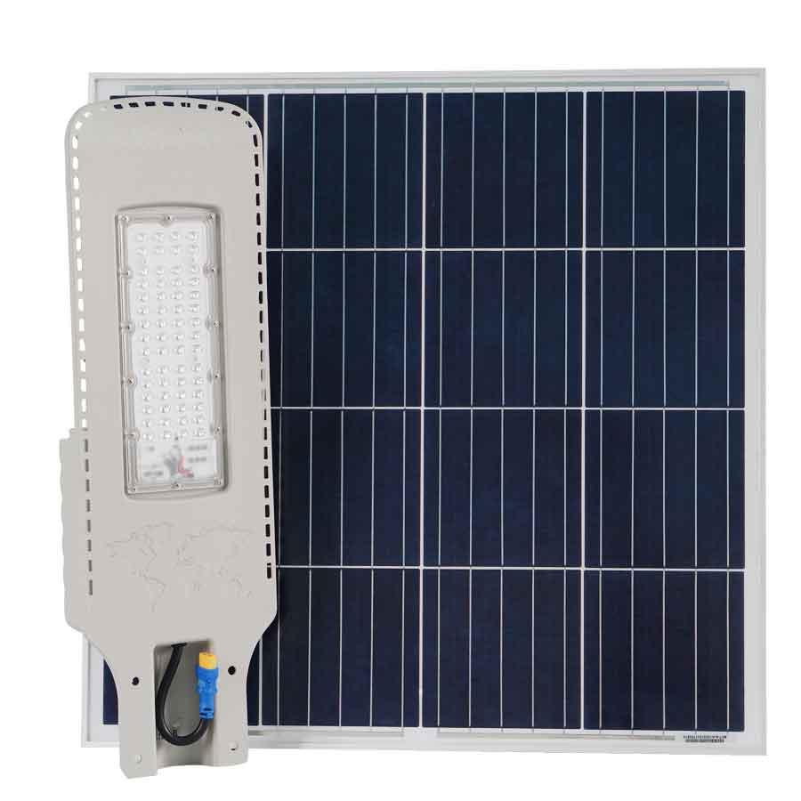 Đèn đường năng lượng mặt trời 300W cao cấp Roiled RL-D300 công suất cao dùng cho công trình
