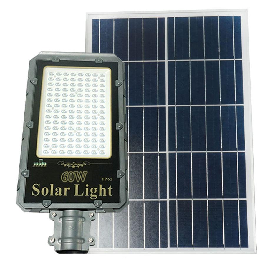 Đèn đường năng lượng mặt trời siêu sáng 60W Roiled - RD60W