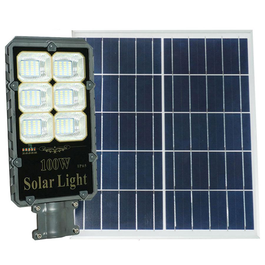 Đèn đường năng lượng mặt trời cao cấp 100W Roiled - RB100W