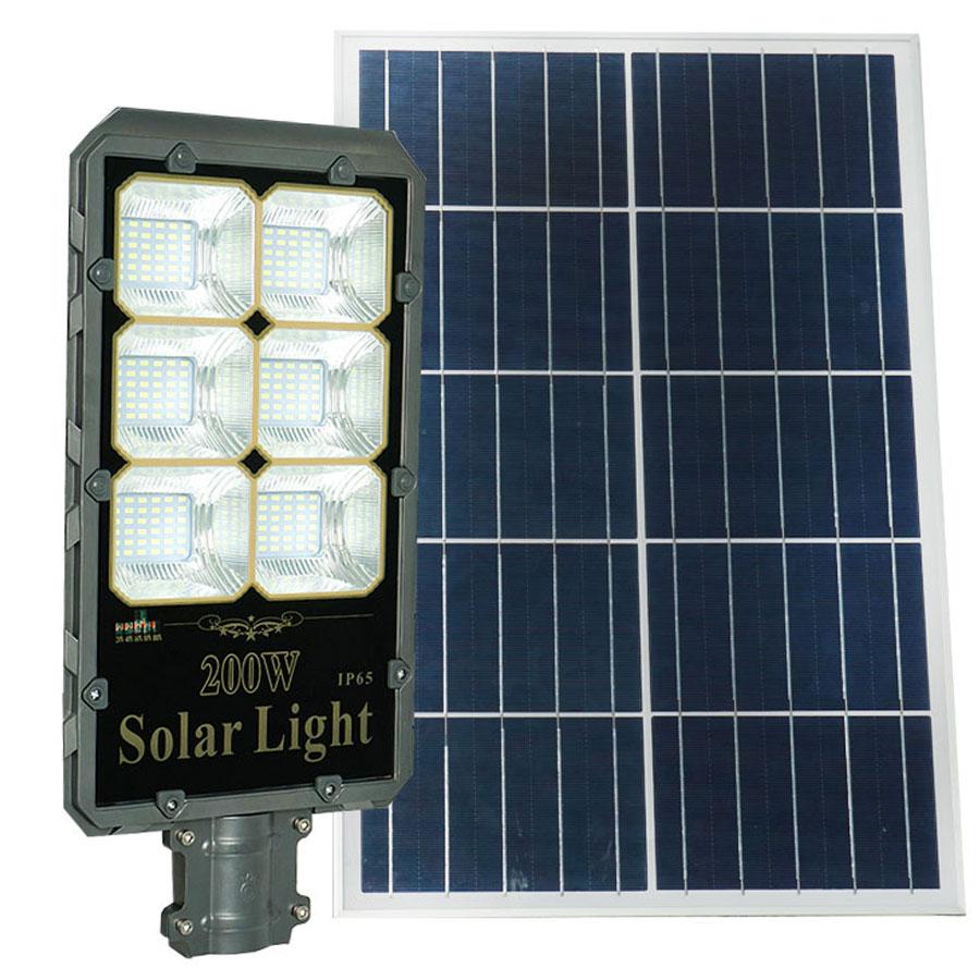 Đèn đường năng lượng mặt trời cao cấp 200W Roiled - RB200W