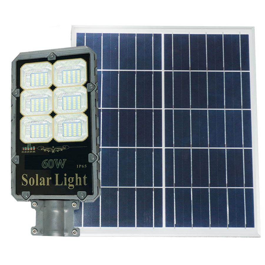 Đèn đường năng lượng mặt trời cao cấp 60W Roiled - RB60W