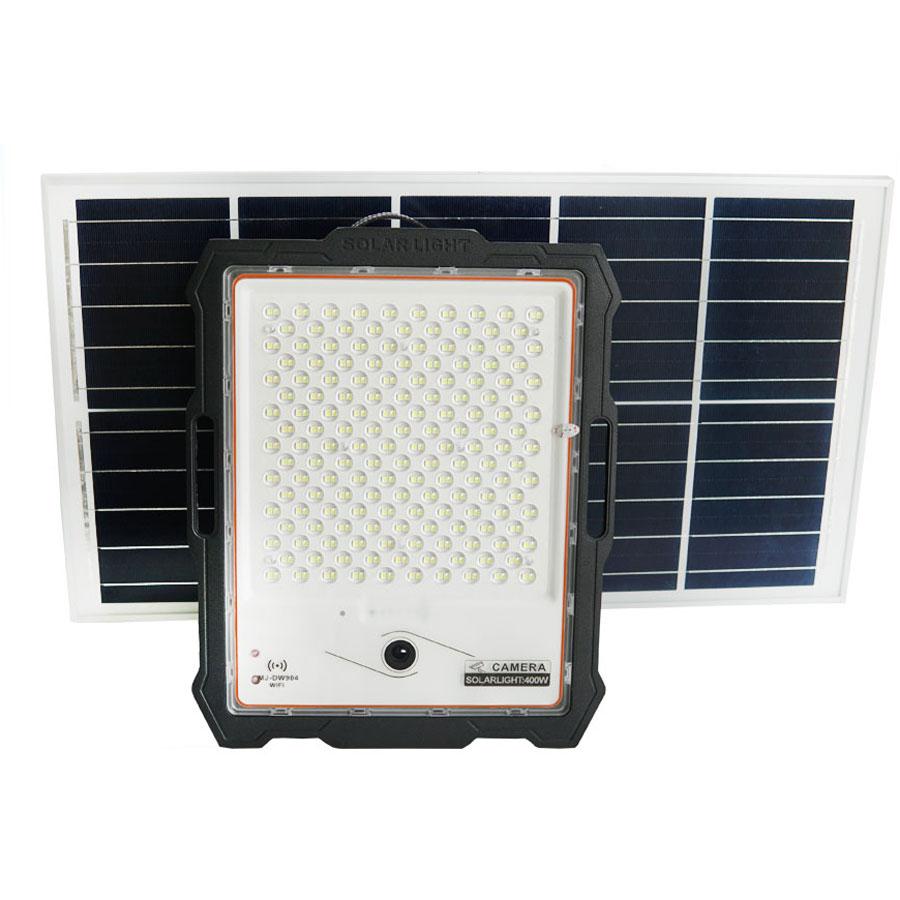 Đèn pha năng lượng mặt trời 400W kết hợp Camera cao cấp - CMR400W
