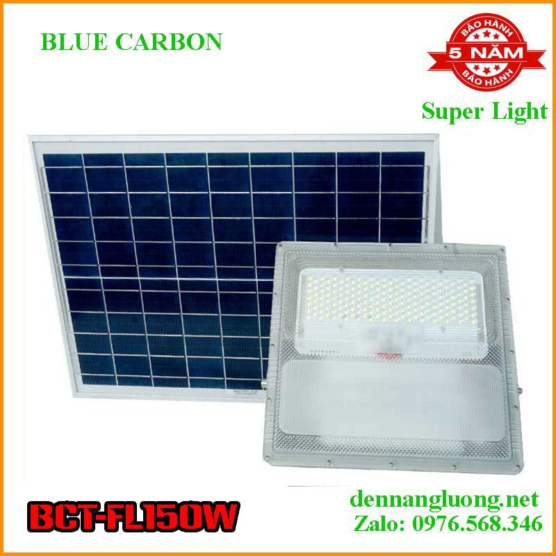 Đèn Pha Năng Lượng Blue Carbon BCT-FL150W Bảo Hành 5 Năm