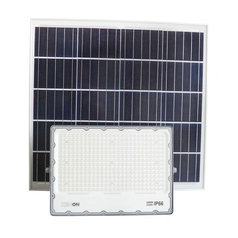 Đèn Pha Năng Lượng Mặt Trời 500W Xenon Deluxe - DL500W