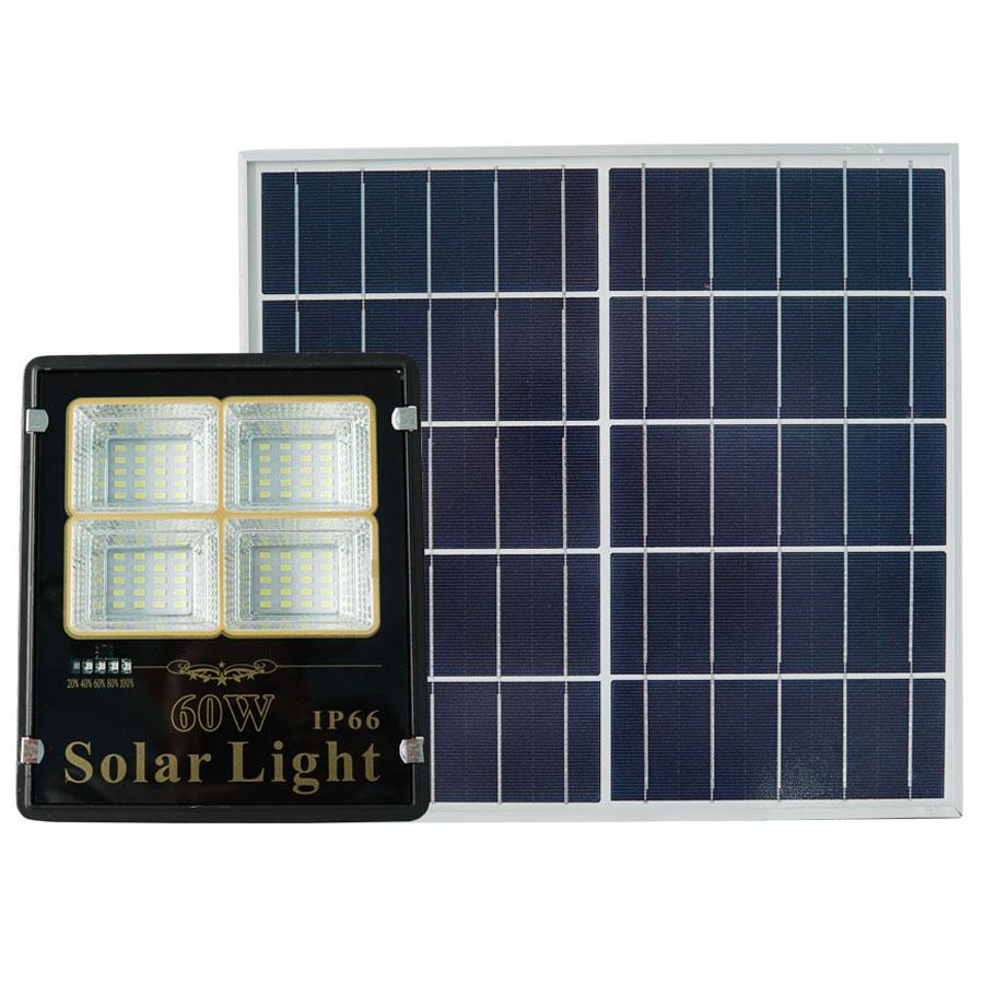 Đèn Pha Năng Lượng Mặt Trời Siêu Sáng 60W Roiled - RP4-60W