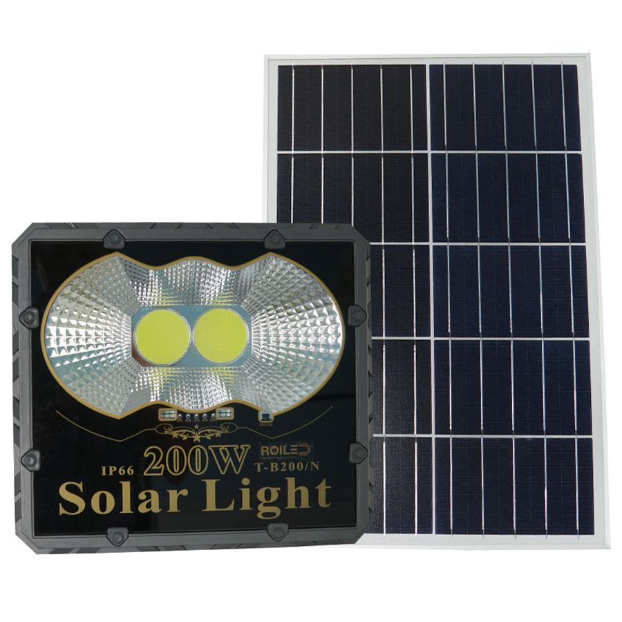 Đèn pha năng lượng mặt trời giá rẻ 200W Roiled - PC200W