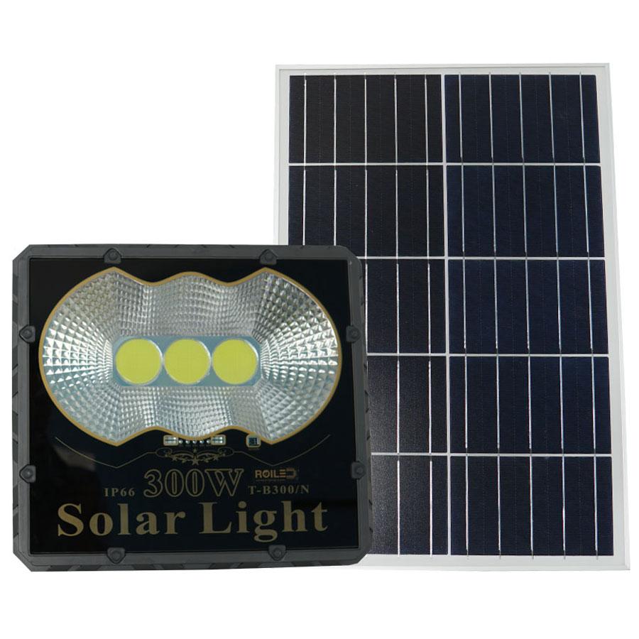 Đèn Pha năng lượng mặt trời giá rẻ 300W Roiled - PC300W