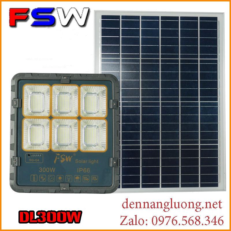 Đèn pha Solar Light DL300W | năng lượng mặt trời mới 2021
