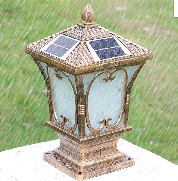 Đèn trụ cổng đèn gắn vách