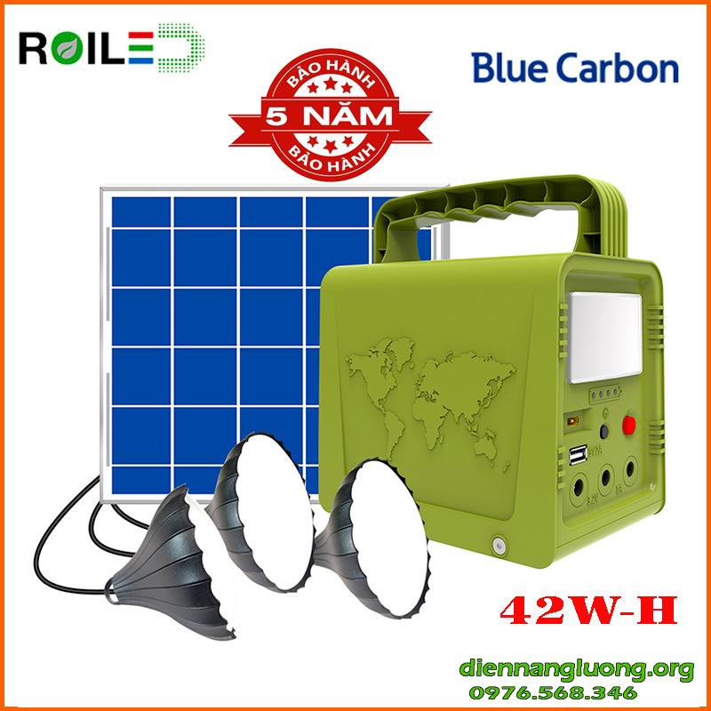 Hệ Thống Điện Năng Lượng Mặt Trời Thông Minh Mini 42WH