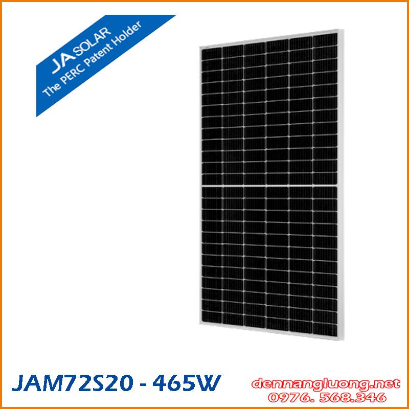 JAM72S20 MBB Half-cell Module 465W