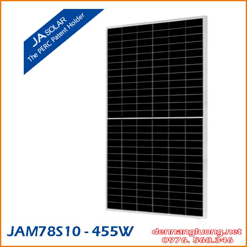 JAM78S10 MBB Half-cell Module 455W