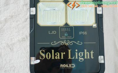 Đèn đường RL 200w pin rời |Solar Light 200w | năng lượng mặt trời thương hiệu Roiled