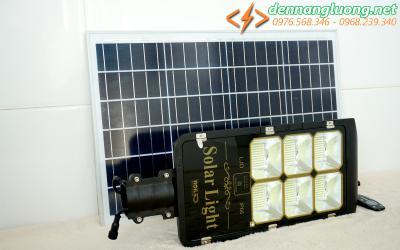 Đèn đường RL 200w pin rời |Solar Light 200w | năng lượng mặt trời