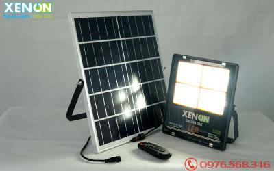 Đèn pha Xenon CX100W| mẫu mới| năng lượng mặt trời