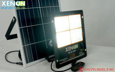 Đèn pha Xenon CX200W| mẫu mới| năng lượng mặt trời