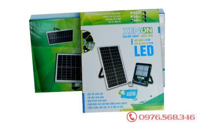 Đèn pha Xenon X200| mới nhất 2020| năng lượng mặt trời