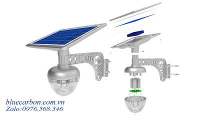 Đèn Vách, Trụ Cổng Biệt Thự Blue Carbon BCT-OLG1.0-18W Bảo Hành 5 Năm