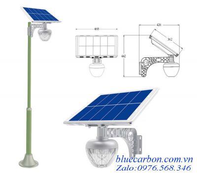 Đèn Vách, Trụ Cổng Biệt Thự Blue Carbon BCT-OLG1.0S-30W Bảo Hành 5 Năm