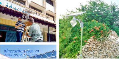 Đèn Vách, Trụ Cổng Biệt Thự Blue Carbon BCT-OLP1.0-36W