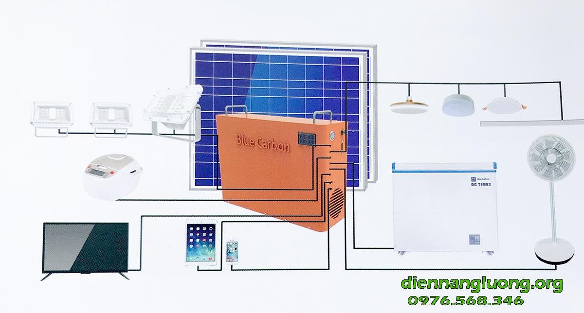 Máy phát điện năng lượng mặt trời BCT 1KW-H cao cấp chính hãng