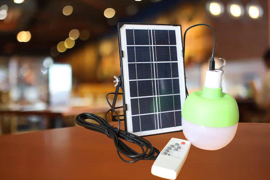 Loại đèn dùng năng lượng mặt trời chiếu sáng trong nhà 60w