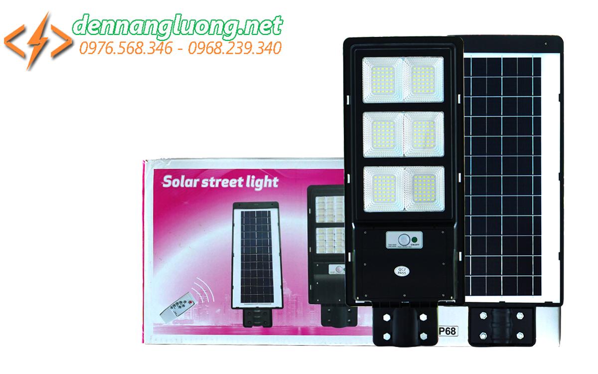 Đèn đường liền thể năng lượng mặt trời 120w