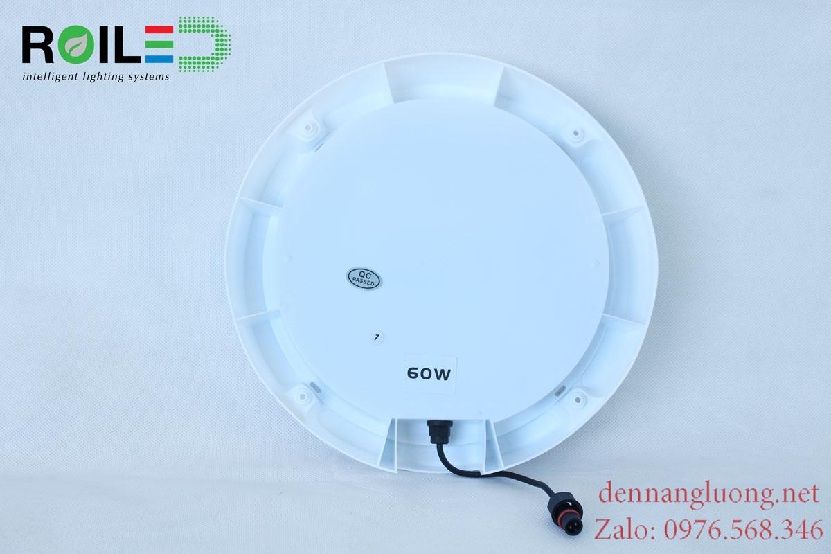 Đèn ốp trần năng lượng mặt trời giá rẻ 60W Roiled - RO60W