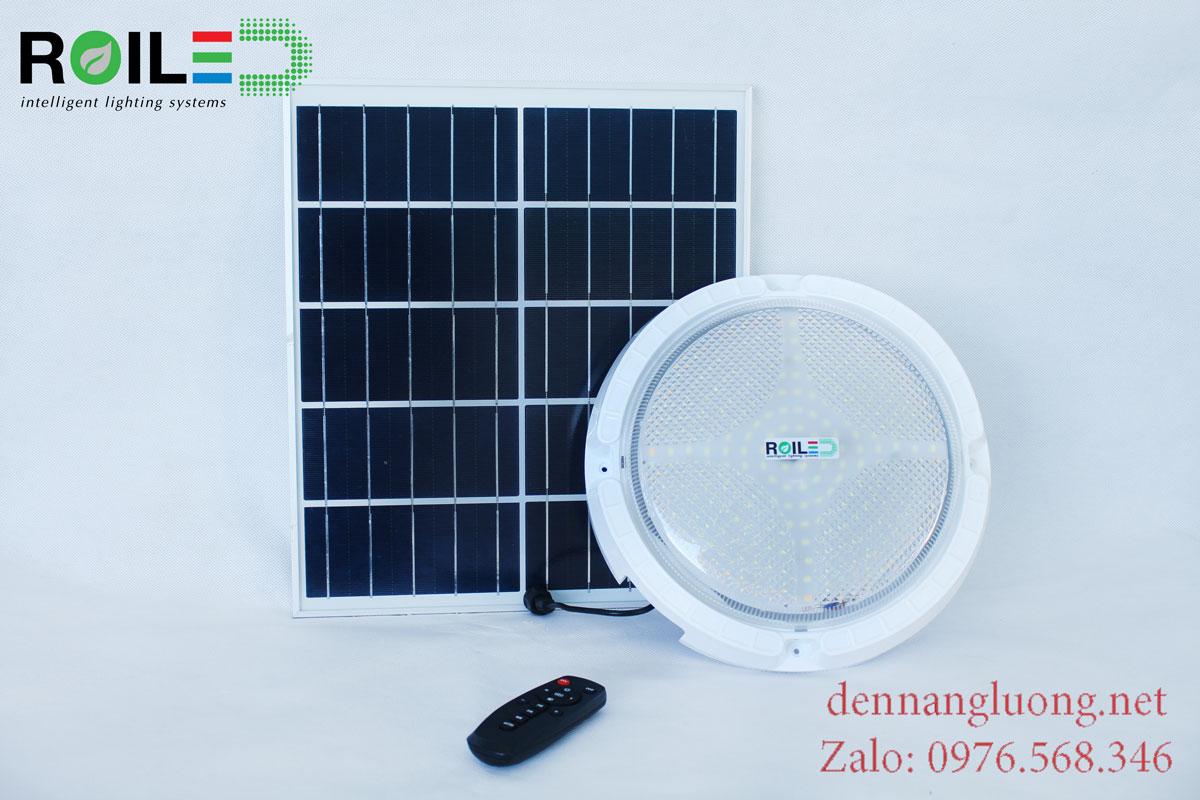 Đèn ốp trần năng lượng mặt trời giá rẻ 100W Roiled - RO100W