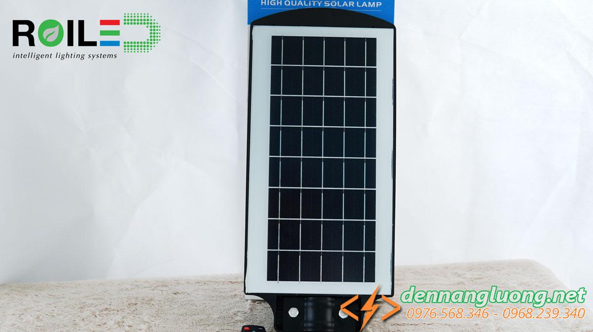 Đèn đường năng lượng Roiled RL60W tấm pin liền thể|Năng Lượng Mặt Trời