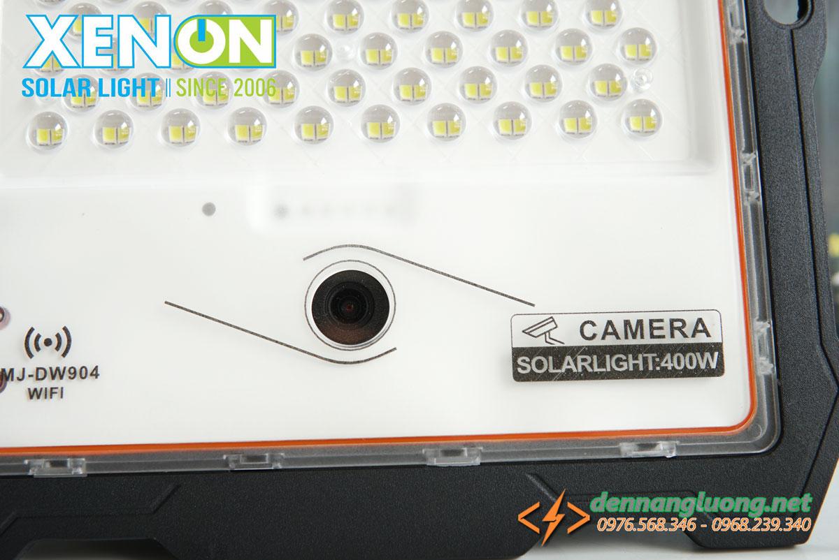 Đèn pha 400W kết hợp camera năng lượng mặt trời cao cấp