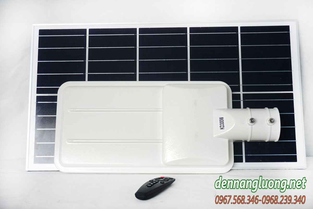 Đèn đường năng lượng mặt trời 300W siêu sáng Solarlight - E300