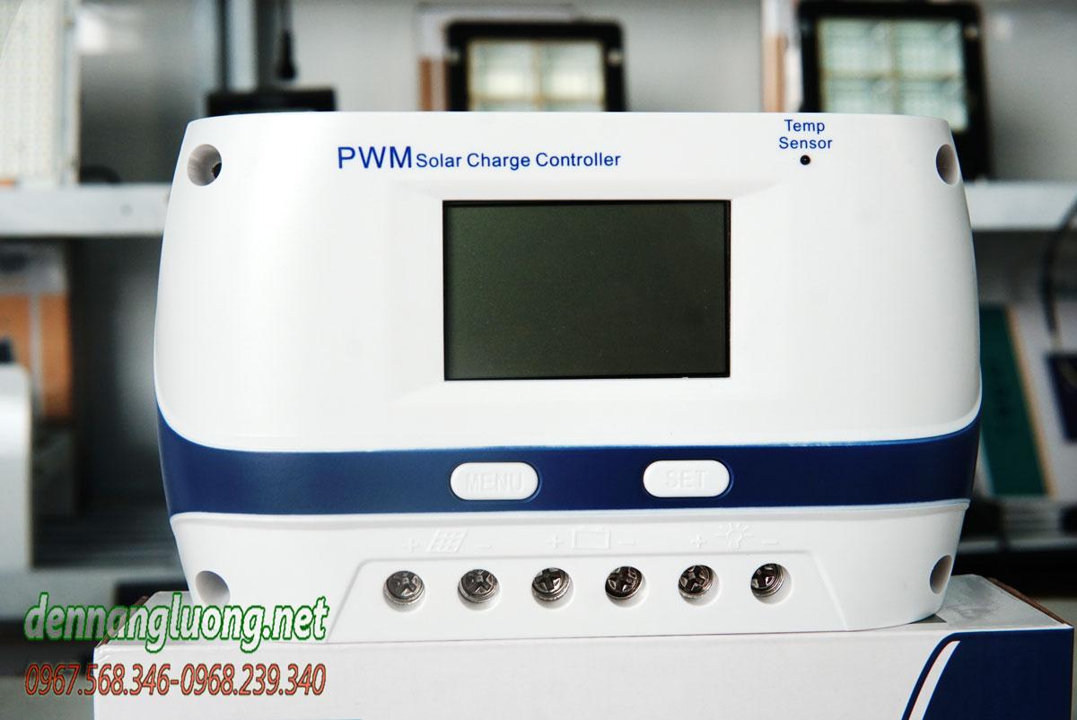 Bộ điều khiển sạc năng lượng mặt trời 60A PWM chính hãng - PWM60A