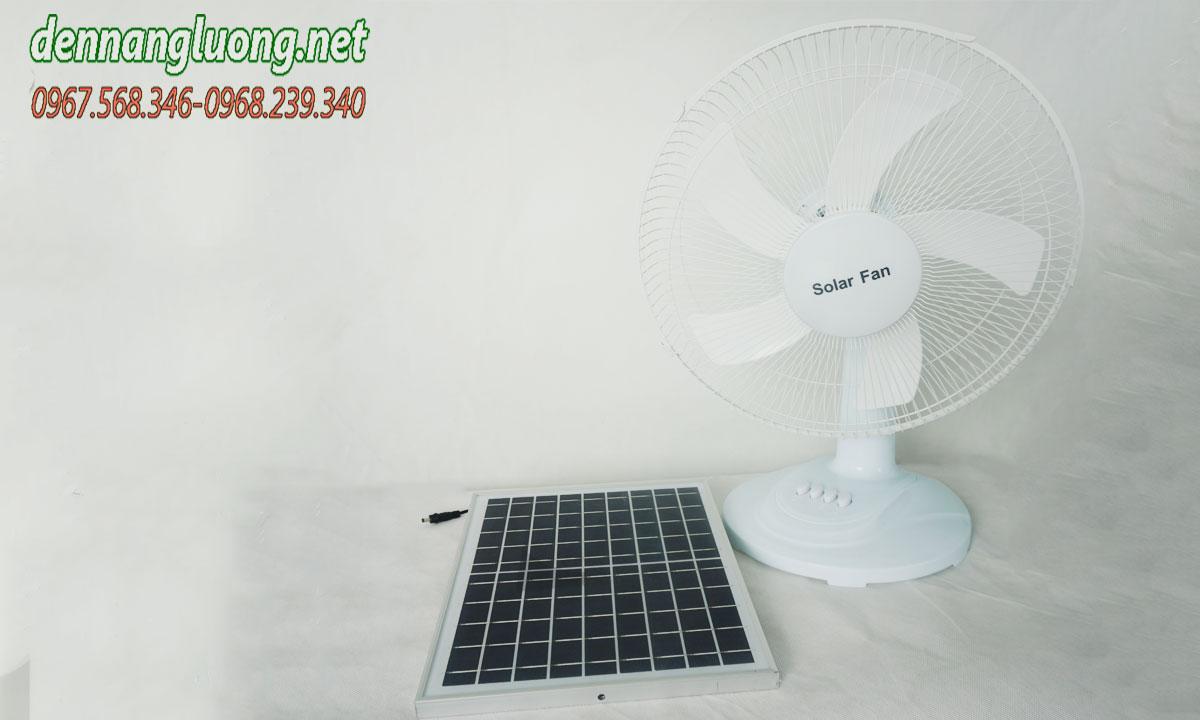 Quạt điện năng lượng mặt trời cao cấp XN 15W/138
