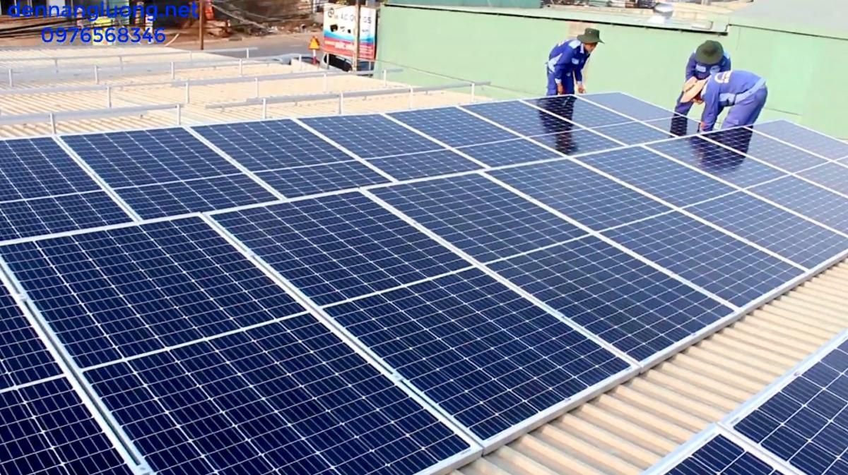 Pin năng lượng mặt trời 20KW