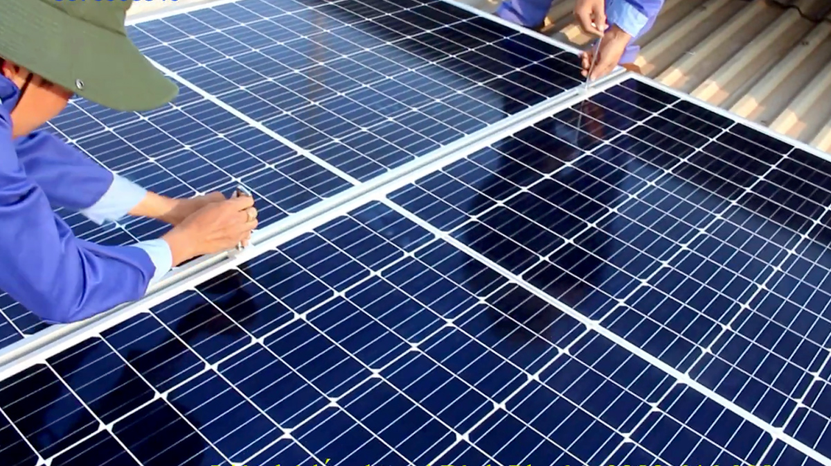 trạm pin năng lượng mặt trời 10kw