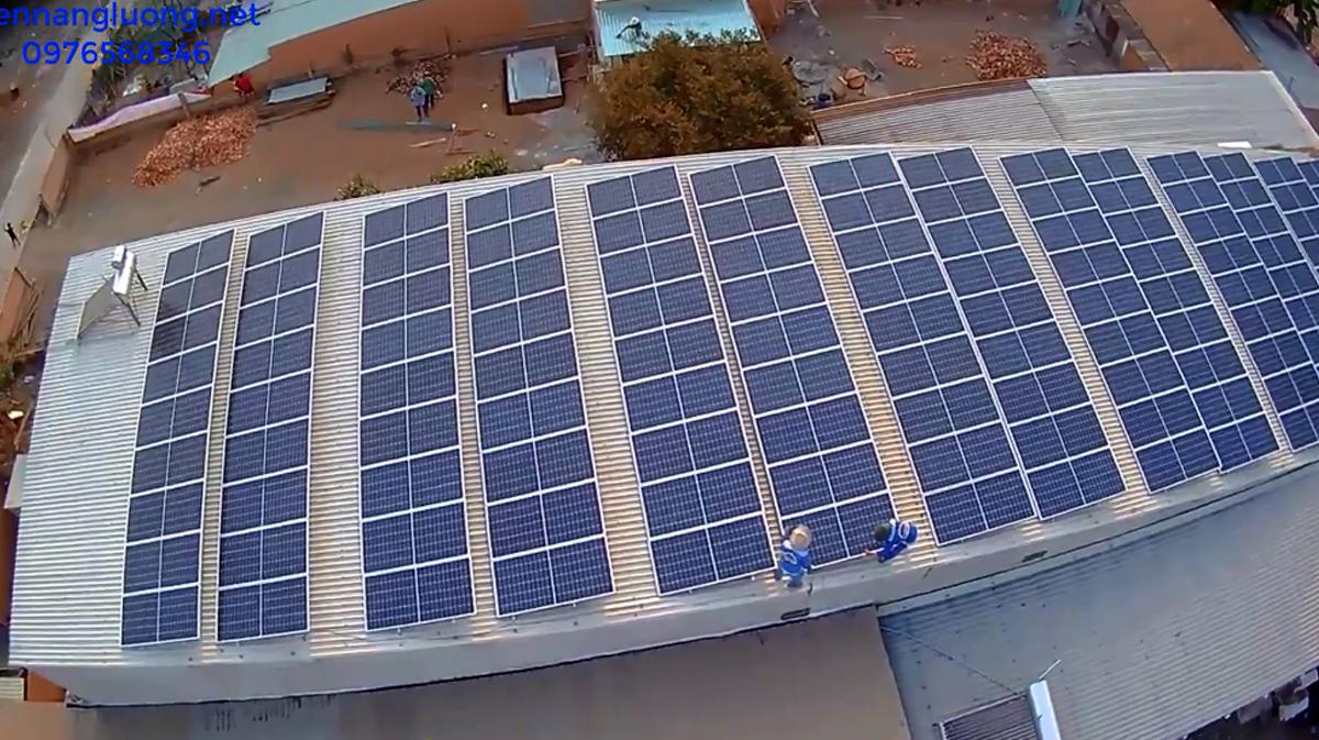 Pin năng lượng mặt trời 30KW