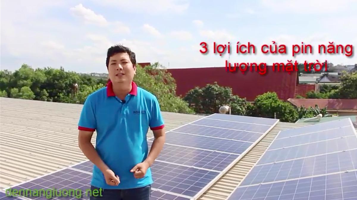 Pin năng lượng mặt trời 15KW