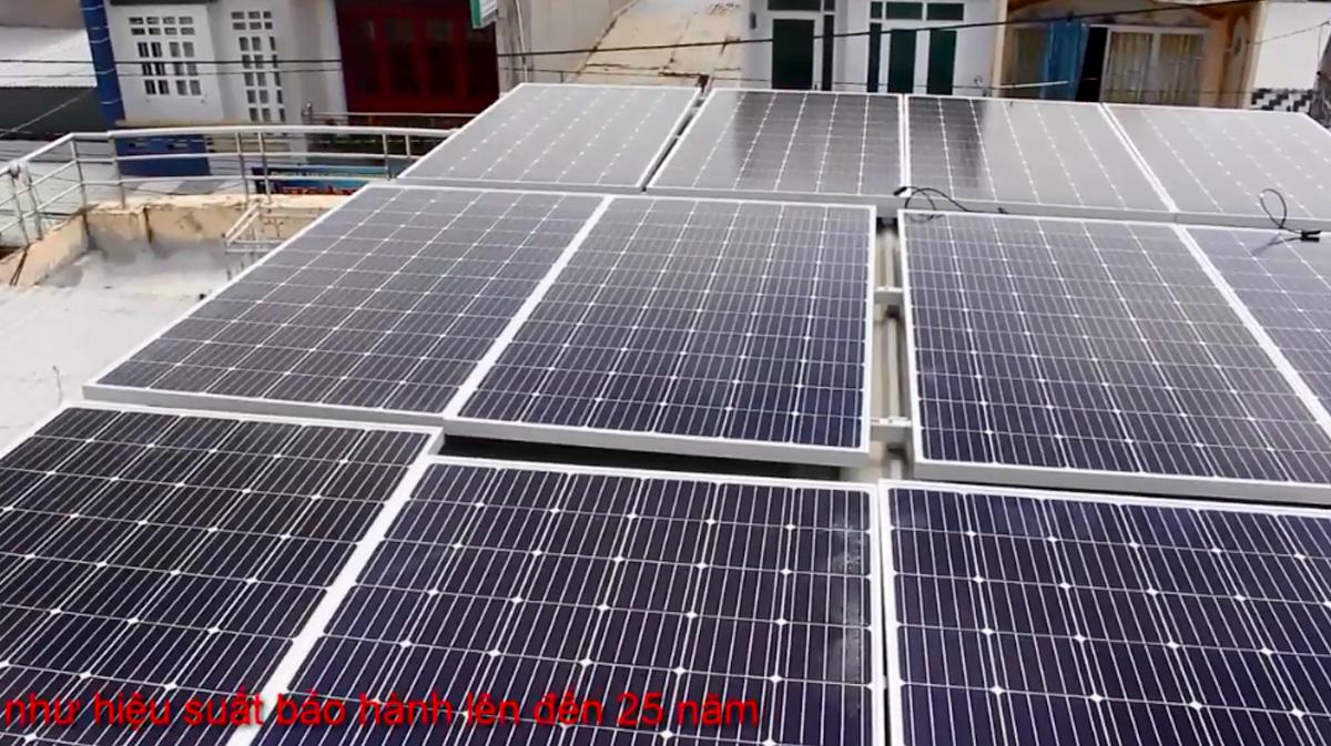 trạm pin năng lượng mặt trời 4Kw