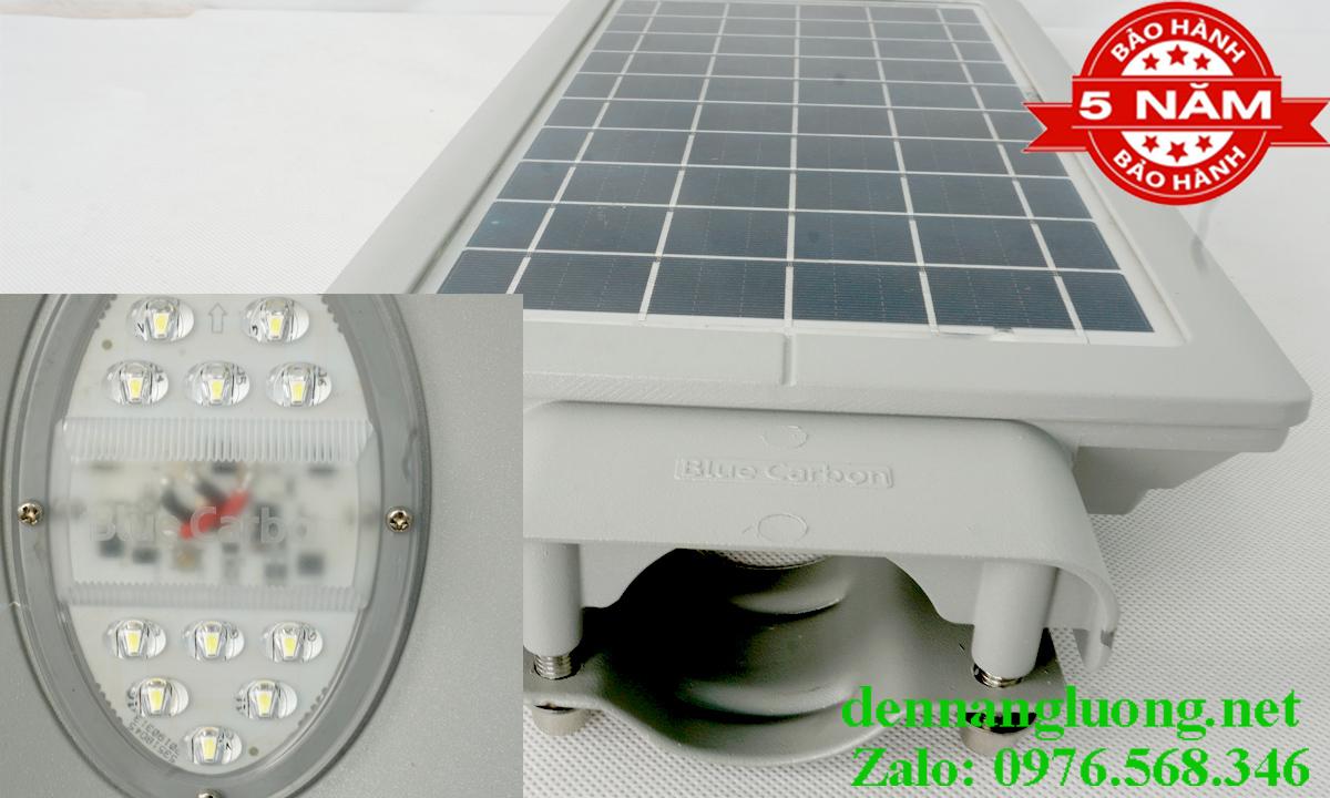 Đèn Đường Năng Lượng Mặt Trời Blue Carbon OLF1.0S 15W
