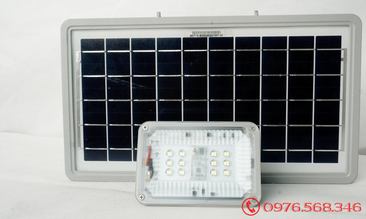 Đèn Pha Năng Lượng Blue Carbon BCT-FL12W Bảo Hành 5 Năm