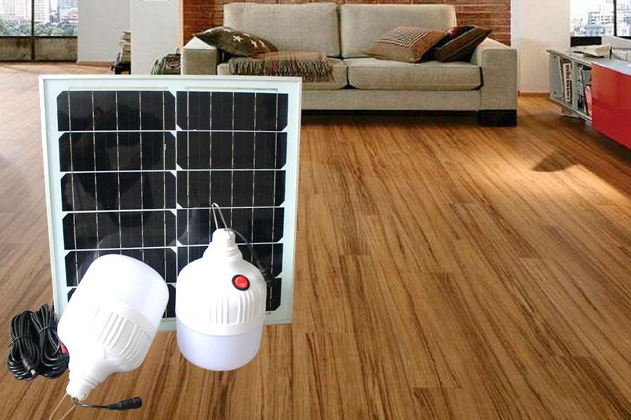 Bóng búp năng lượng mặt trời sử dụng trong nhà 40w