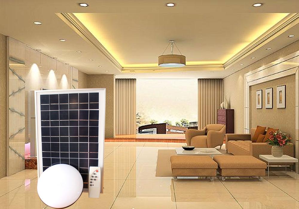 Loại đèn chiếu sáng miễn phí trong nhà - năng lượng mặt trời 150w