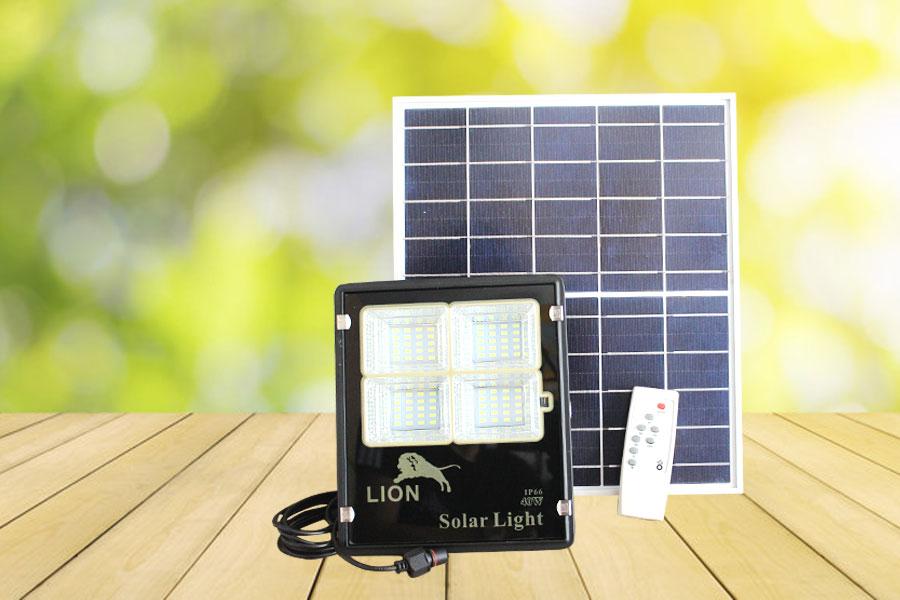 Đèn pha năng lượng mặt trời mới LION 40w