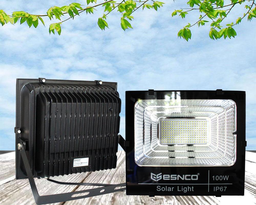 Đèn pha năng lượng mặt trời ES 100w