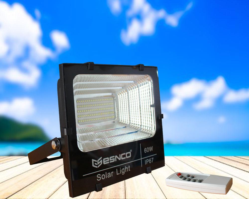 Đèn pha năng lượng mặt trời ES 60w