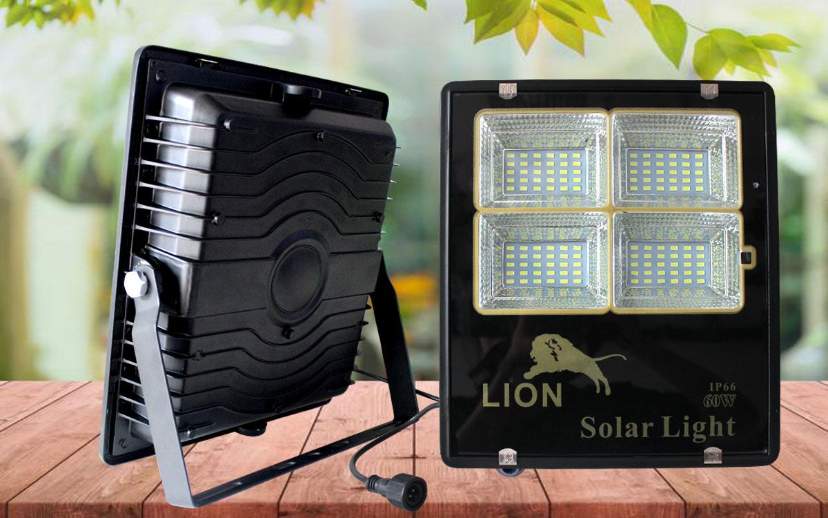 Đèn pha năng lượng mặt trời LION 60w