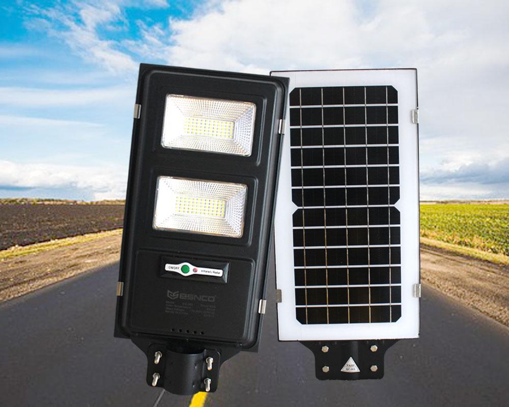 Đèn đường năng lượng pin liền thể ES 80w