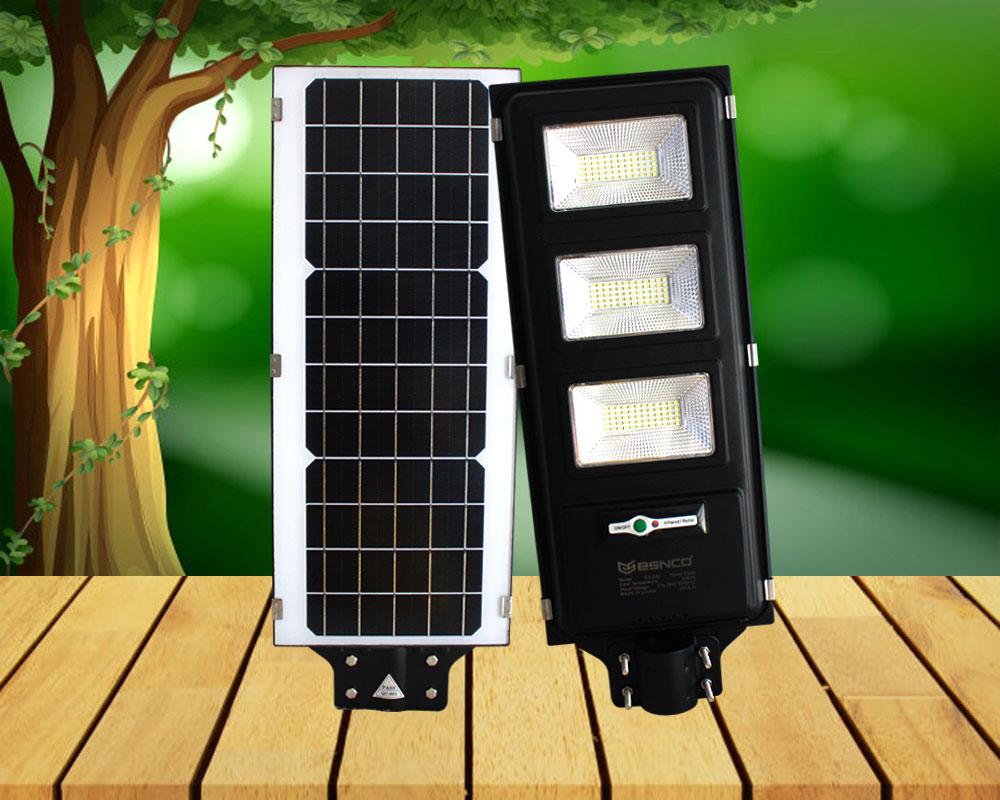 Đèn đường năng lượng pin liền thể ES 120w
